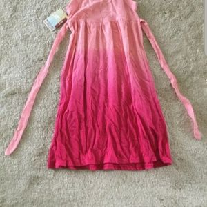 Mossimo Pink Ombre Sleveless Dress Kids s